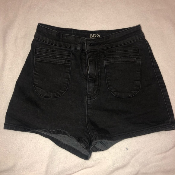 Urban Outfitters Pants - urban outfitters black shorts